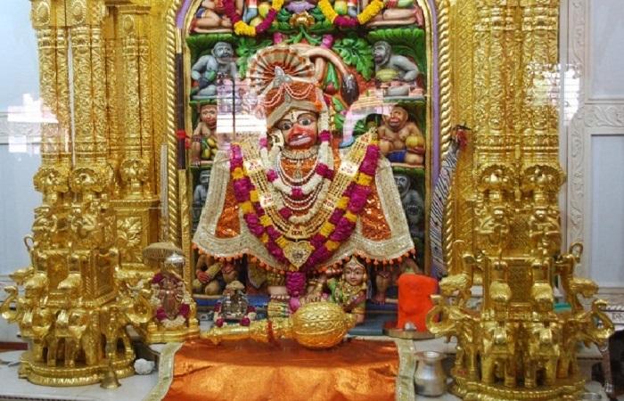 हनुमान.jpg2 जाने गुजरात के भावनगर के सारंगपुर में स्थित भव्य हनुमान मंदिर के बारे में