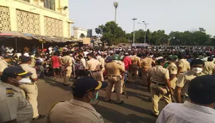 बांद्रा स्टेशन पर भीड़ को उकसाने वाले आरोपी विनय और 1000 मजदूरों के खिलाफ पुलिस ने किया मामला दर्ज