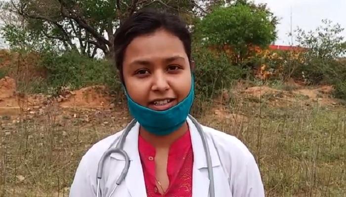 muskan gupta बेटियां किसी से कम नही इसका सबूत दिया सोनभद्र के दुध्धी आदिवासी बहुल इलाके की बेटियों ने