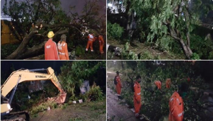 तुफान 1 पश्चिम बंगाल में सुपर साइक्लोन अम्फान ने मचाई तबाही, कई लोगों की मौत, केंद्र से मांगी मदद