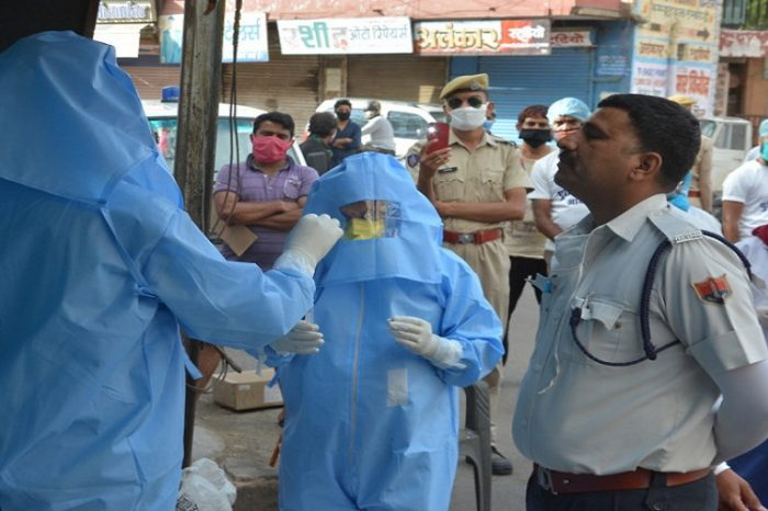 राजस्थान में कोरोना के 45 नए केस मिले, कोरोना संक्रमित मरीजों की संख्या 3753 हुई