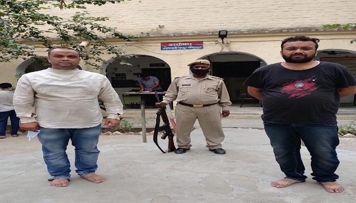 सहारनपुर फर्जी राज्यमंत्री विवेक कौशिक और उसका साथी मयंक गिरफ्तार, खुद को बीजेपी का नेता बाताते थे