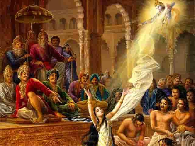Draupadi Chirharan mahabharat महाभारत में द्रौपदी के हाथों बुरी तरह से क्यों पिटे थे दुशासन..