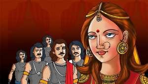 dropadi 1 भारत के इन हिस्सों में आज भी महिलाएं द्रोपदी की तरह रहती हैं एक साथ कई पतियों के साथ..