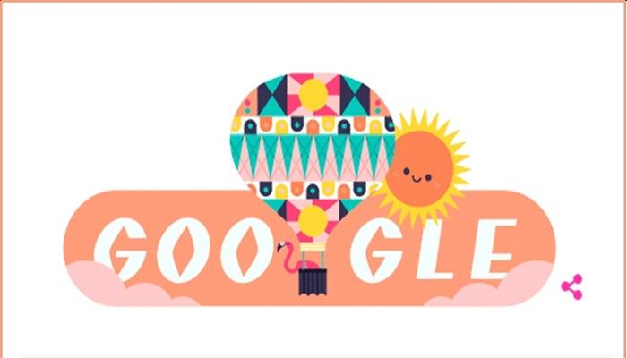 गूगल गूगल ने डूडल बना कर मनाया गर्मी के मौसम का जश्न