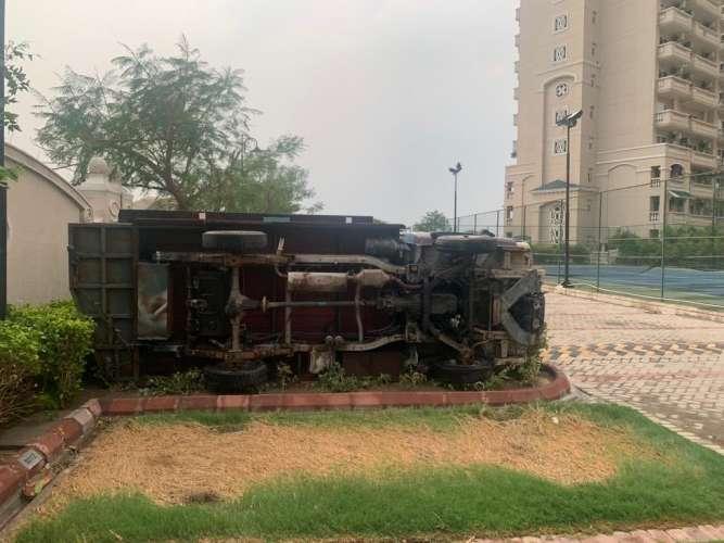DELHI NCR.jpg2 दिल्ली-एनसीआर में आंधी-तूफान के बाद हुई झमाझम बारिश, डीएनडी पर हुआ बड़ा हादसा