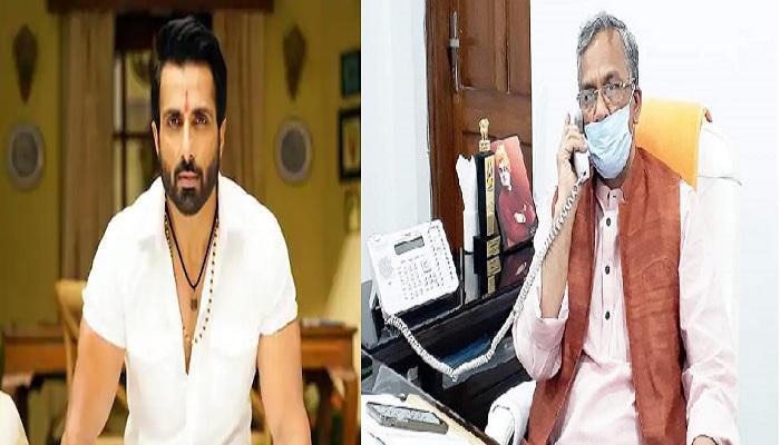 cm raway and sonu sood सीएम त्रिवेंद्र सिंह रावत ने सोनू सूद को दिया उत्तराखंड आने का न्योता