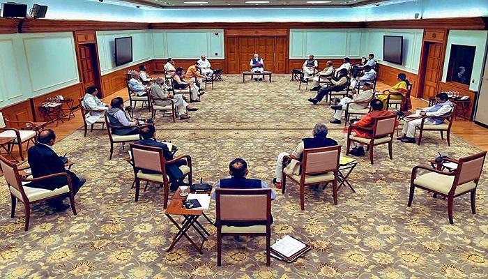 modi cabinet meeting सर्वदलीय बैठक में पीएम मोदी का बड़ा बयान, भारत से कोई एक इंच जमीन नहीं छीन सकता..
