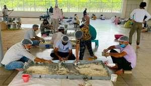 radha swami 2 3 लाख खाने के पैकेट किए तैयार,राधा स्वामी सत्संग ब्यास जम्मू