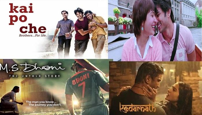 sushant singh rajput 2 बॉलीवुड में इन 4 बड़ी फिल्मों ने बदल दी थी सुशांत की किस्मत, मिली थी खास पहचान
