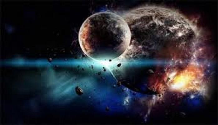 धरती का कलेजा चीरने आसमान से तेज रफ्तार में आ रहा उल्का पिड..