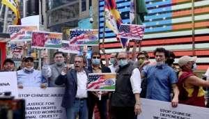 america protest 11 अमेरिका की सड़कों पर उमड़े जनसैलाब ने उड़ा दीं  चीन की धज्जियां..