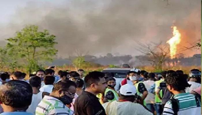 asam असम के तिनसुकिया जिले में इंडियन ऑयल कुएं में हुआ विस्फोट, तीन विदेशी घायल