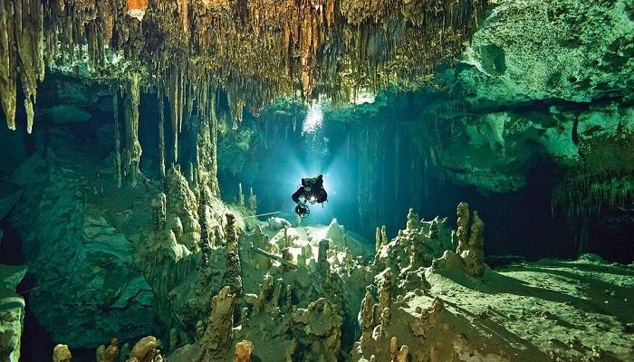 पानी में डूबी गुफाओं में वैज्ञानिकों को मिले चौंकाने वाले रहस्य..