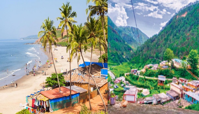 goa and uttrakhand.jpg 2 सैलानियों के लिए खुले, घूमने फिरने के सबसे फेवरेट डेस्टिनेशन गोवा, हिमाचल और उत्तराखंड