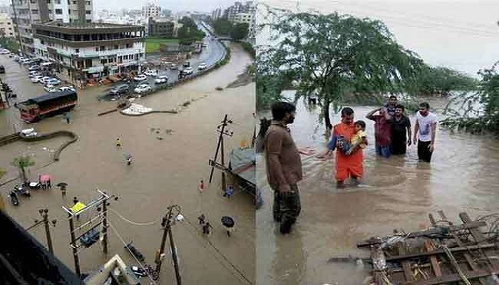 gujarat इस हफ्ते इन राज्यों में हो सकती है भारी बारिश, गुजरात में बाढ़ जैसे हालात
