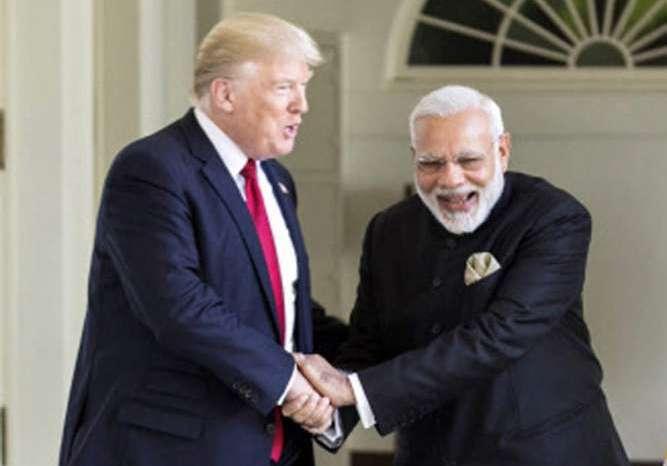 प्रधानमंत्री नरेंद्र मोदी ने ट्वीट कर दी ट्रंप को बधाई।