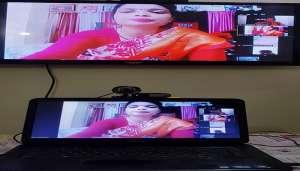 rakesh 44 विडियो कॉन्फ्रेंस के जरिये पूर्व विधायक राकेश सिंह ने लोगों का हाल जाना..