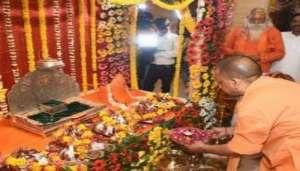 ram 1 2 भगवान राम के दर पर पहुंचे सीएम योगी, जानिए किन चीजों का लिया जायजा..
