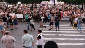 russia relly 2 पूर्व राज्यपाल की गिरफ्तारी में खाबरोवस्क में किया गया विरोध प्रदर्शन, 6,500 लोग गिरफ्तार..