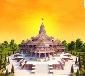 इस तरह का होगा राम मंदिर, तस्वीर जारी की गई नक्शे