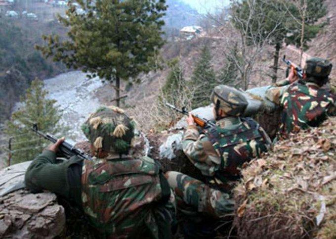 army in krishna ghati जम्मू-कश्मीर: पुलवामा सेक्टर में सुरक्षा बलों के साथ मुठभेड़, मारे गए 2 आतंकवादी
