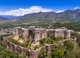 bhimgarh fort riasi जम्मू से रियासी सड़क मार्ग से पहुंचे एलजी