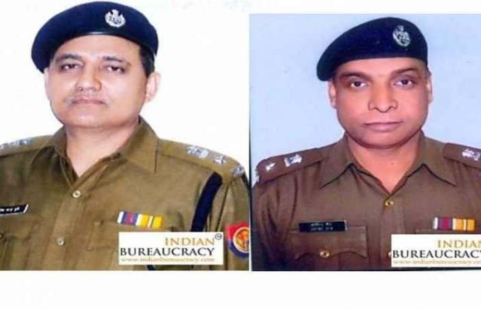 यूपी के 2 आईपीएस अफसर निलंबित, घोटाले में आया दोनों का नाम