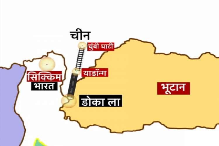 dokalam china india भारत-भूटान बार्डर पर चीन खाली करा रहा अपने गांव, क्या माजरा है?