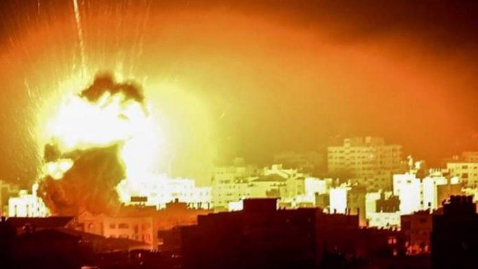गाजा के रॉकेट हमले के बाद इजराइल ने भी किया हवाई हमला