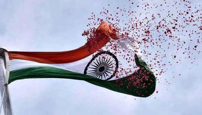 स्वतंत्रता दिवस पर ध्वजारोहण, भारत की जीत का प्रतीक