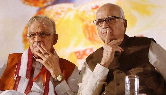 lal 1 राम जन्म भूमि पूजन पर आडवाणी और मुरली मनोहर जोशी को अब तक क्यों नहीं मिला निमंत्रण?