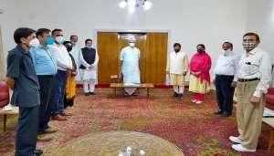 manoj 1 2 नहीं मिले कांग्रेस नेता, न ही एल.जी जम्मू कश्मीर ने बुलाया