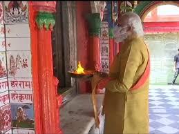 modi 1 1 बांग्लादेश दौरा: पीएम ने यशोरेश्वरी मंदिर में की पूजा-अर्चना