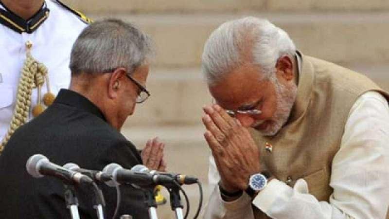 modi pranav आज ही के दिन 7 साल पहले देश के 15वें प्रधानमंत्री बने थे नरेंद्र मोदी