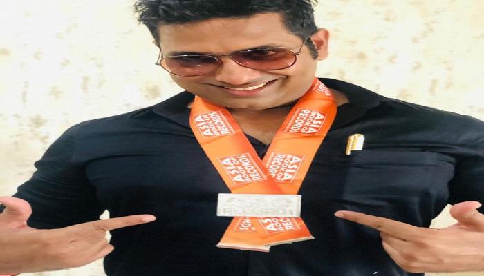raghav.jpg2 राजधानी के युवक मनीष राघव ने लॉकडाउन में बनाया नया कीर्तिमान