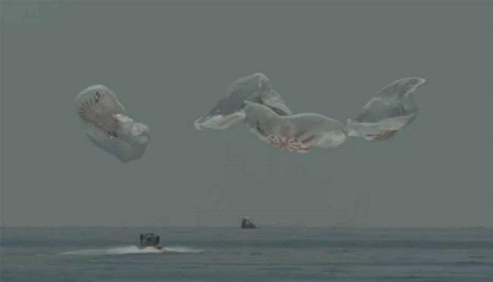 spelx 1 नासा ने बनाया रिकॉर्ड 45 साल में पहली बार आकाश से पाताल में उतारे यात्री..