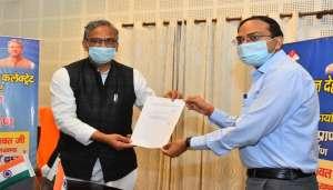 trivender 2 1 मुख्यमंत्री ने की पलायन आयोग द्वारा तैयार की गई जनपद चमोली की रिपोर्ट का विमोचन..