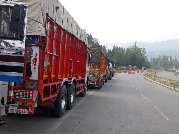 बारिश ने जम्मू कश्मीर में मचाई तबाही, हाईवे बंद