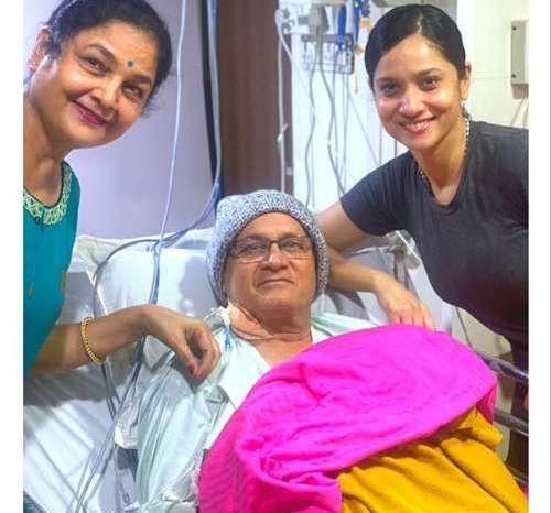 अंकिता लोखंडे ने पिता के लिए लिखा भावुक पोस्ट, जानें अंकिता ने क्या लिखा