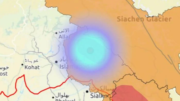 Earthquake in Srinagar