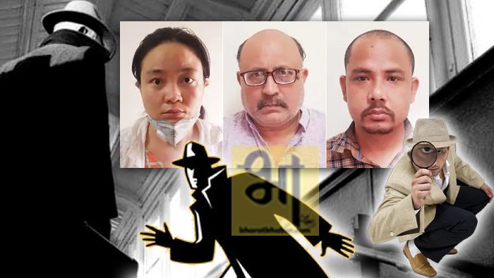 नई दिल्ली। दिल्ली में एक पत्रकार PIB journalist Rajeev Sharma को पकड़ा गया है जो जिस पर चाइना के लिए जासूसी करने का आरोप है। पत्रकार के साथ-साथ दिल्ली पुलिस की स्पेशल सेल ने एक चीनी महिला और एक नेपाल के नागरिक को भी गिरफ्तार किया गया है। इन दोनों आरोपियों के जरिए राजीव शर्मा को जासूसी के एवज में मोटी रकम दी जा रही थी।