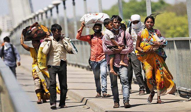 प्रवासी श्रमिकों