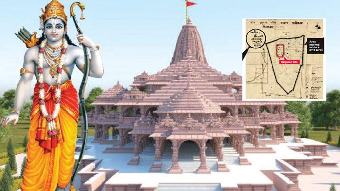 श्री राम लला मंदिर का नक्शा अयोद्धा विकास प्राधिकरण ने किया पास