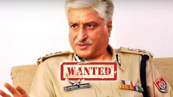 पंजाब पुलिस के मुखिया रहे पूर्व डीजीपी सुमेध सिंह सैनी इस वक्त मोस्ट वांटेड की श्रेणी में आ खड़े हुए हैं कोर्ट ने उनका अरेस्ट वारंट जारी किया हुआ है और उनको जल्द से जल्द गिरफ्तार करने की माग पंजाब से लेकर दिल्ली तक उठ रही है।