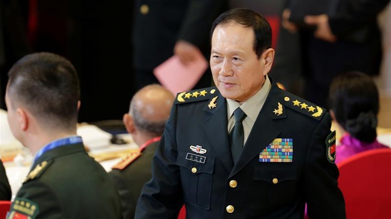 चीनी रक्षा मंत्री
