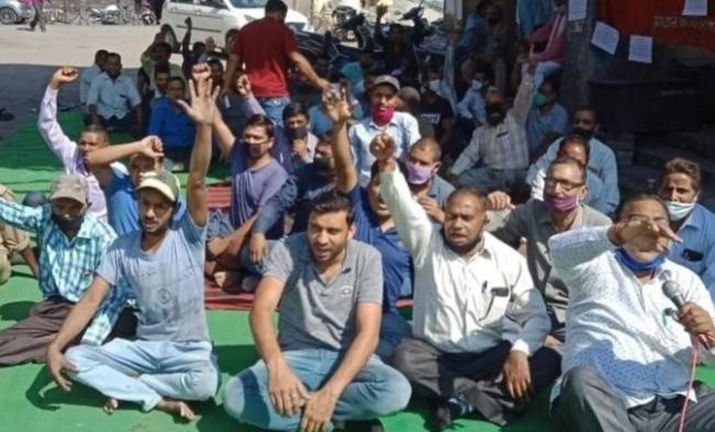 प्रदेशभर में रोडवेज कर्मियों का आंदोलन, जानें क्या हैं उनकी मांगे