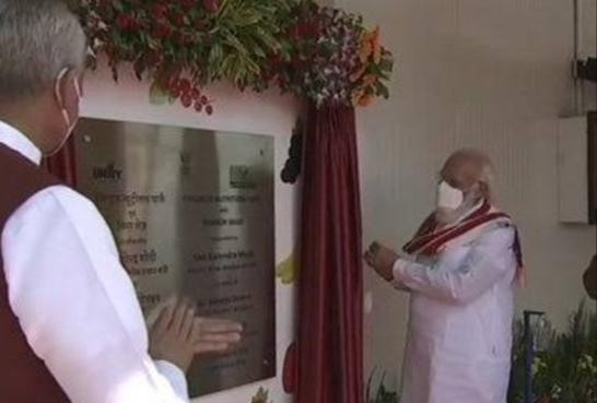 पीएम नरेंद्र मोदी ने किया आरोग्य वन का उद्धाटन, कल इन महापुरूष को देंगे श्रद्धांजलि