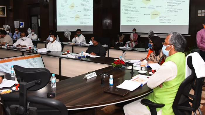 केंद्र पोषित योजना पर राज्य स्तरीय दिशा समिति की बैठक आयोजित