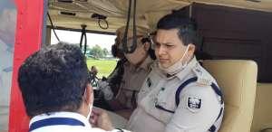 IMG 20201024 WA0203 अपराधियों की अब खैर नहीं ,पुलिस कर रही है दियारा में हवाई सर्वेक्षण
